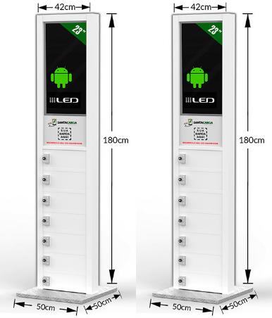Locker - Totem carregador