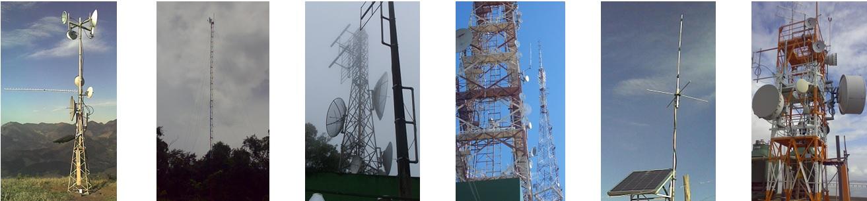 Instalação de rádios