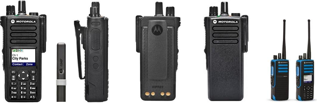 Motorola série DGP5000 e 8000