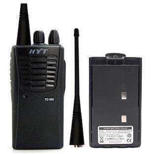 Aluguel de rádios comunicadores - HYT TC 500