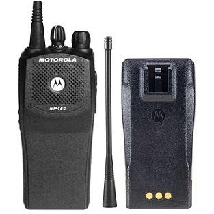 Aluguel de rádios comunicadores - Motorola EP 450